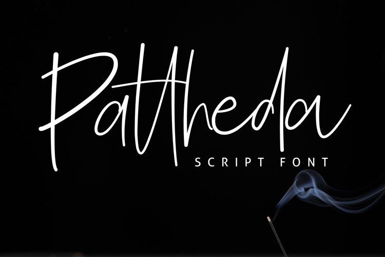 Pattheda Script