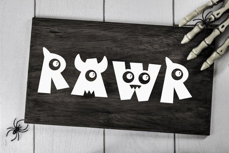 RAWR Cut file - SVG & PNG