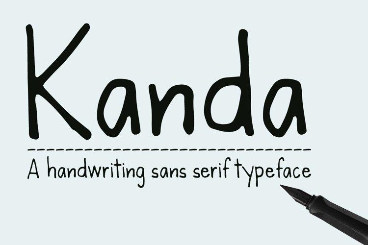 Kanda Handwriting Typeface