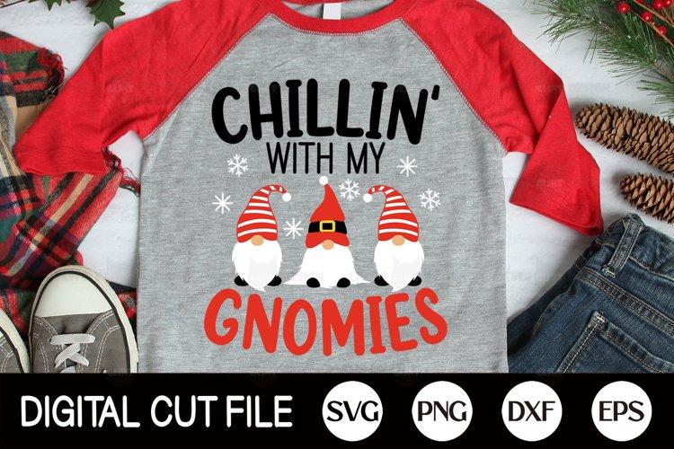 2020, Christmas SVG, Gnome Winter Shirt, Kids Shirt SVG, DXF example image 1