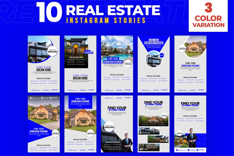 Real Estate 10 Instagram Stories
