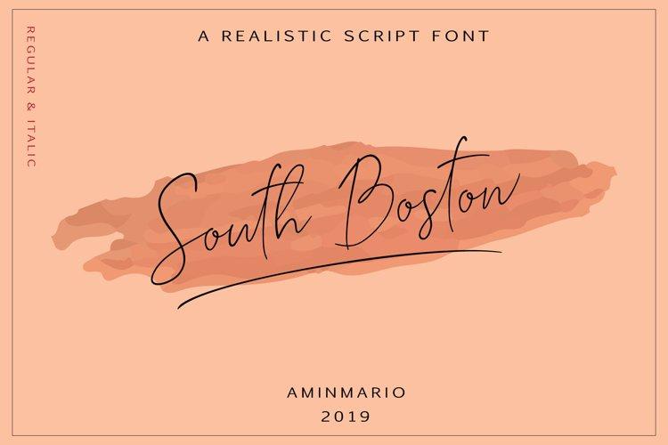 SOUTH BOSTON | REALISTIC SCRIPT example image 1