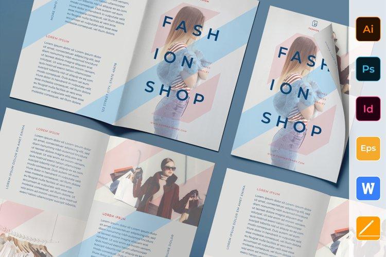 Fashion Shop Brochure Bifold