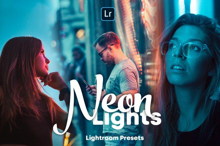 Neon Lights - Lightroom Presets example image 1