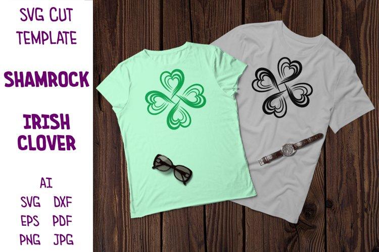 Clover SVG, Shamrock SVG, St Patricks Day, Clover Mandala