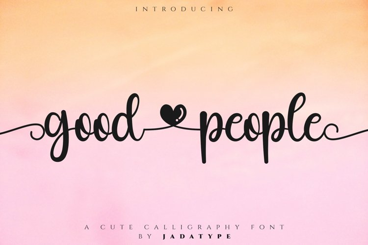 Good People example image 1