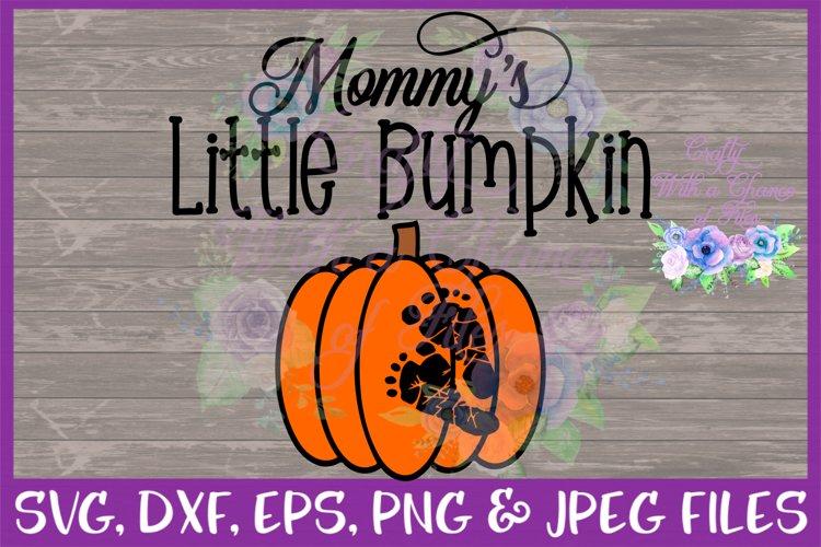 Mommy's Little Bumpkin SVG - Free Design of The Week Font