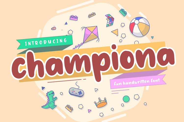 Championa Fun Handwritten Font example image 1
