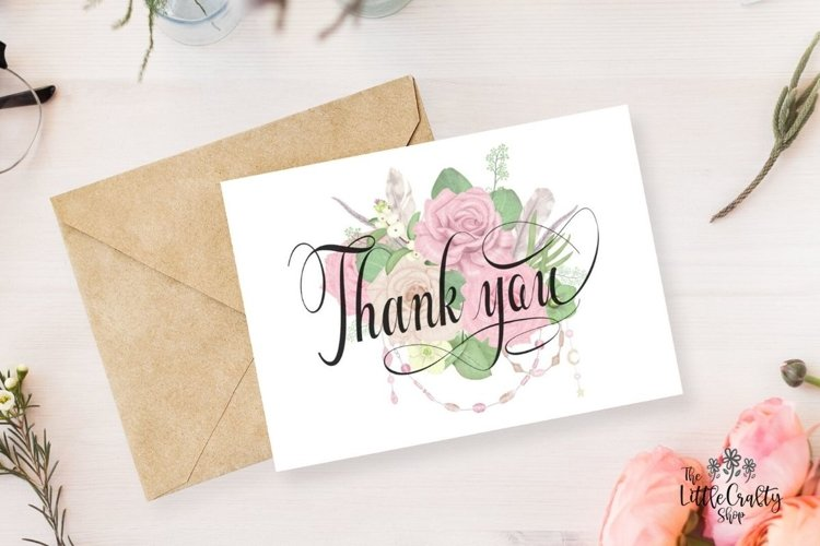 Thank You Greeting Card example image 1