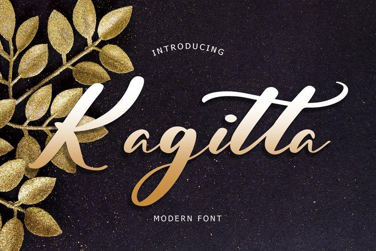 Kagitta Modern Font example image 1