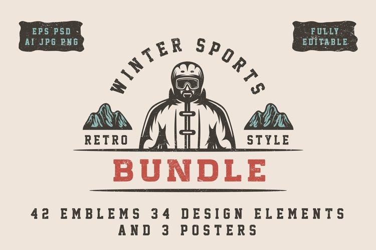 Winter Sports Bundle example image 1