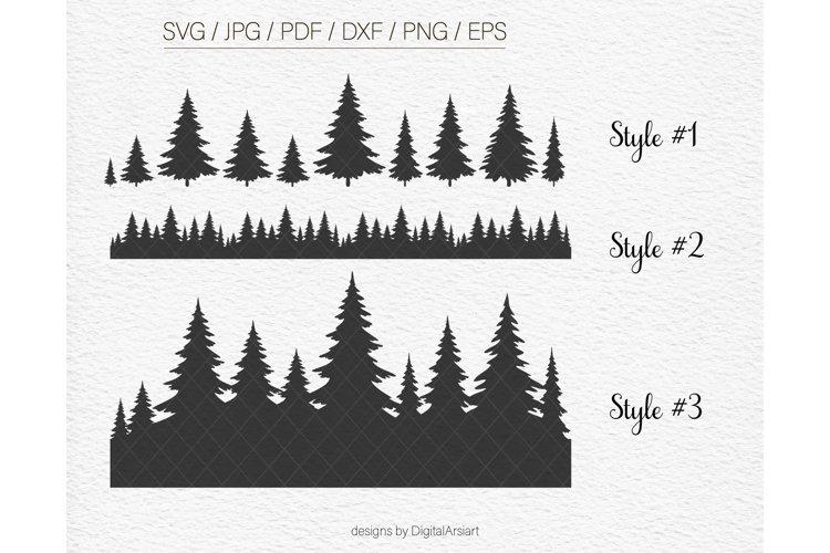 Tree svg files for cricut Pine tree svg Tree svg Vector
