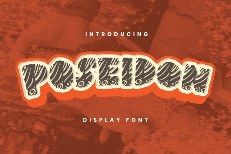 Poseidon Font example image 1