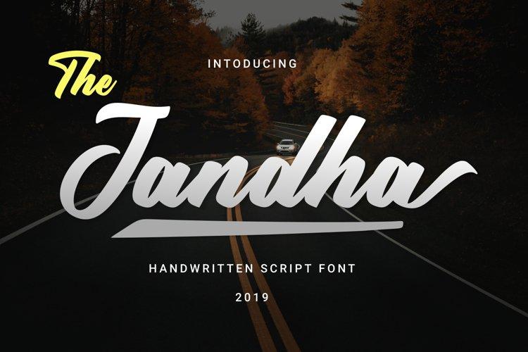 Jandha Font example image 1