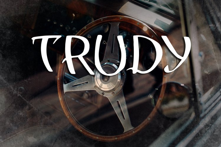 Trudy Vintage Font example image 1