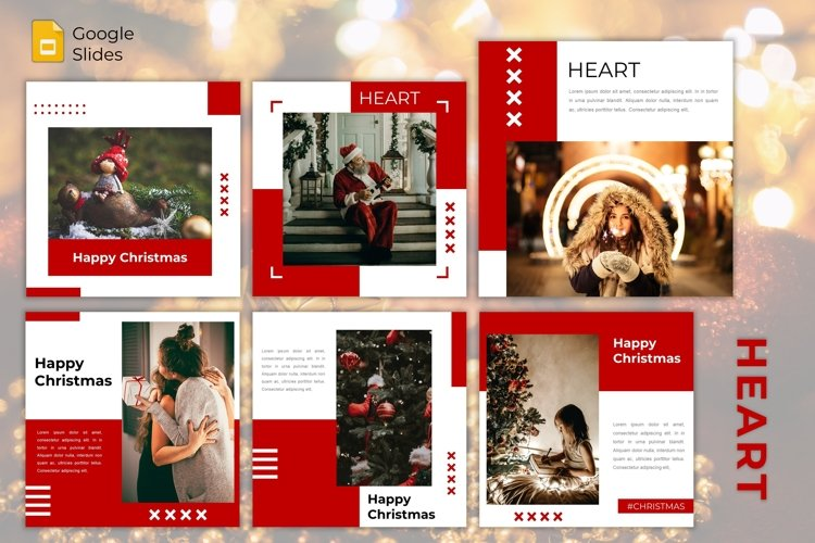 Instagram Feed Template - Heart example image 1