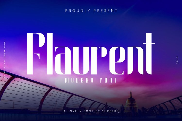 Flaurent Modern Font example image 1