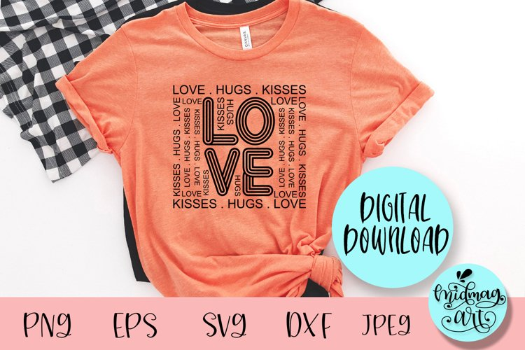 Love svg, valentine svg example image 1
