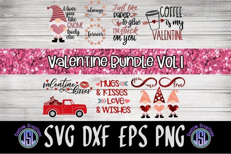 Valentine Bundle Vol 1 | Set of 11 | SVG DXF EPS PNG PDF example image 1