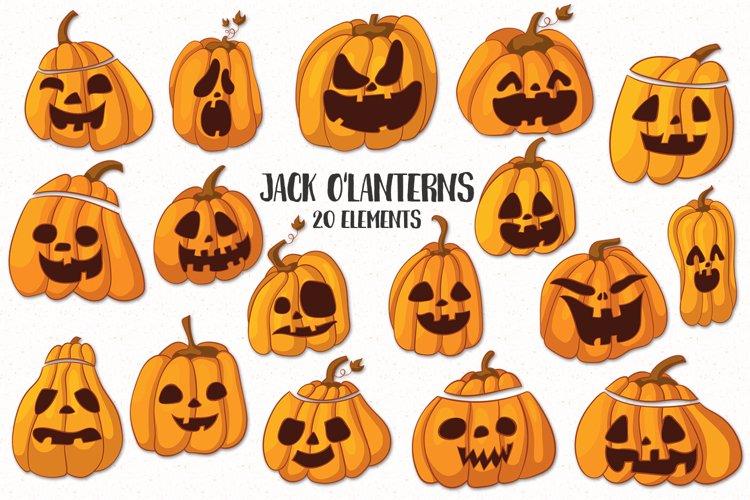 Jack O'lanterns example
