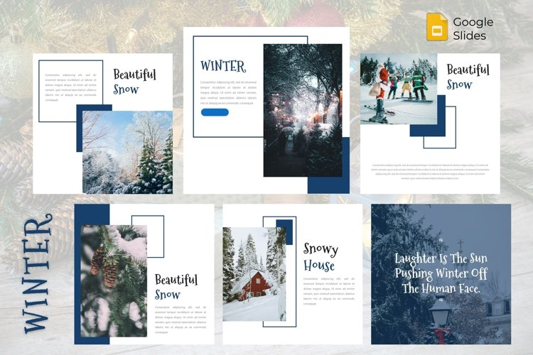 Instagram Feed Template - Winter example image 1