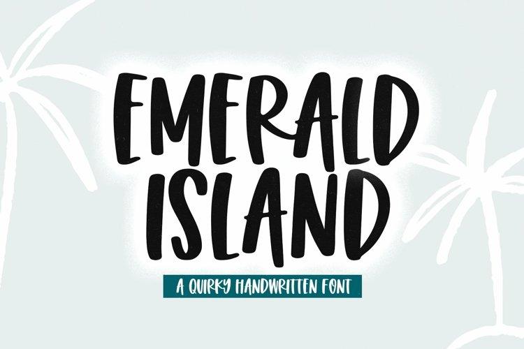 Web Font Emerald Island - A Fun Handwritten Font example image 1