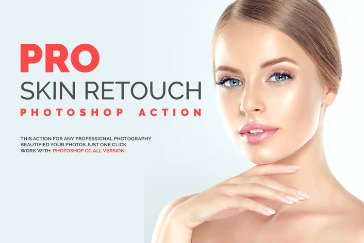 PRO Skin Retouch Photoshop Action example image 1