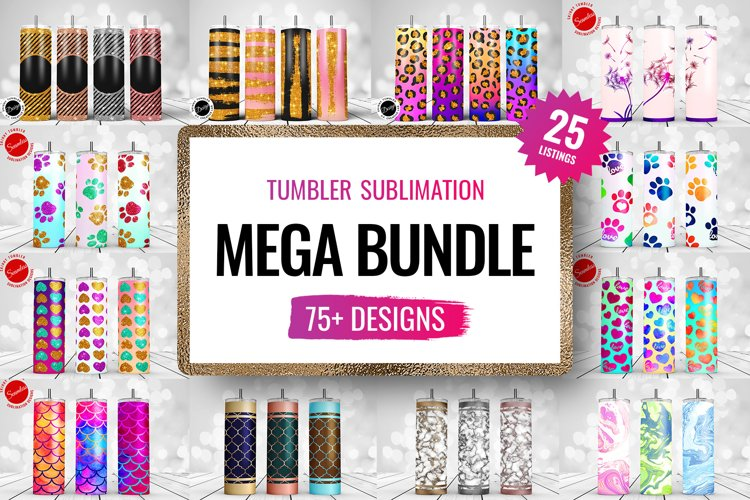 Tumbler Sublimation Mega Bundle