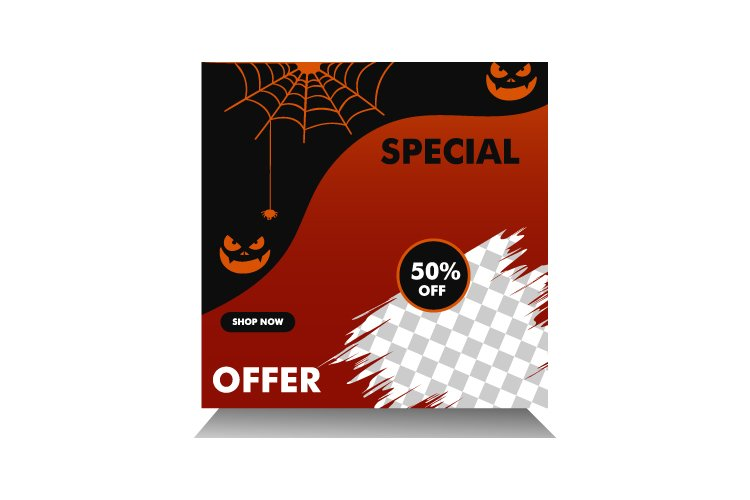 Halloween sale example image 1
