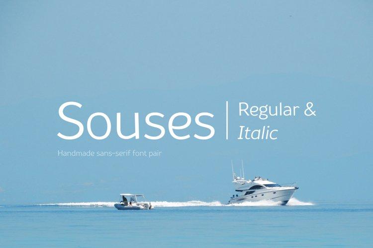 Souses — Regular & Italic example image 1