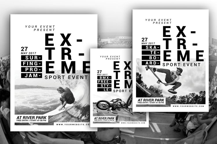 Extreme Sport Event Flyer example image 1