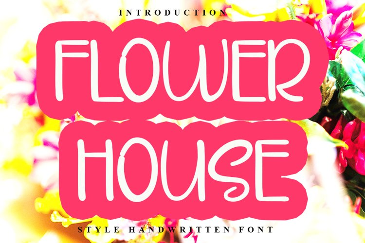 Flower House example image 1