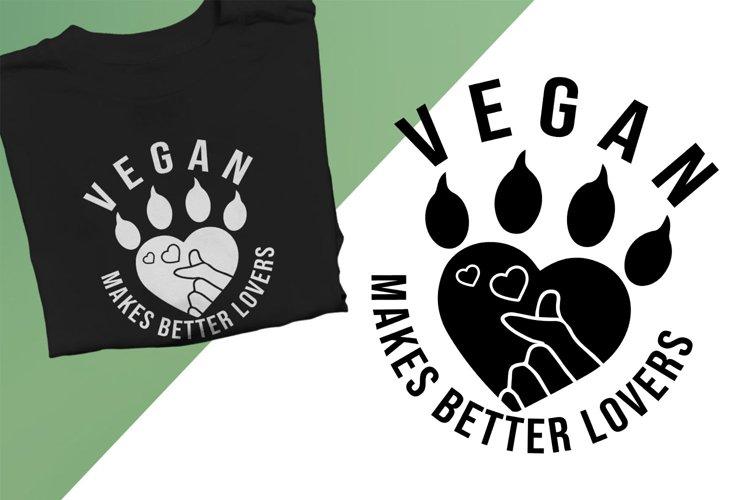 Vegan makes better lovers