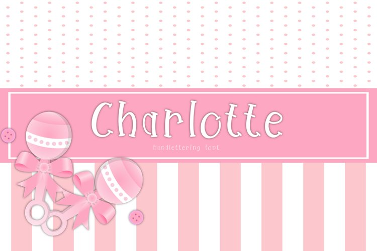 Charlotte Font example image 1