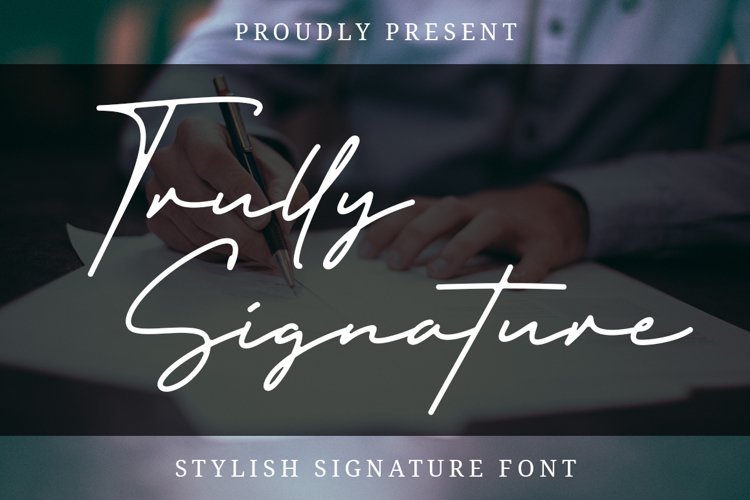 Trully Signature example image 1