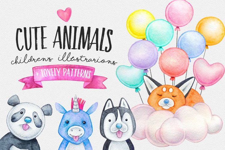 CUTE ANIMALS collection BABY SHOWER example