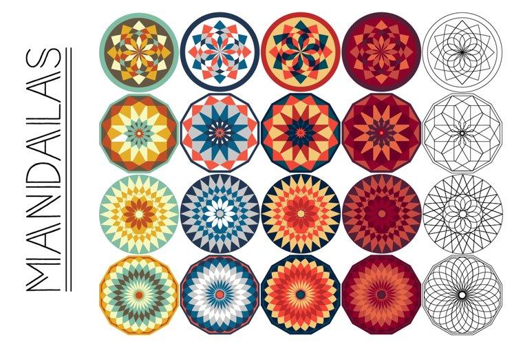 Simple Mandalas example image 1