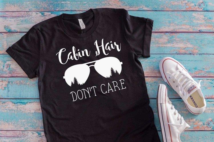 Cabin hiar don't care t-shirt design|svg file| graphic files example image 1