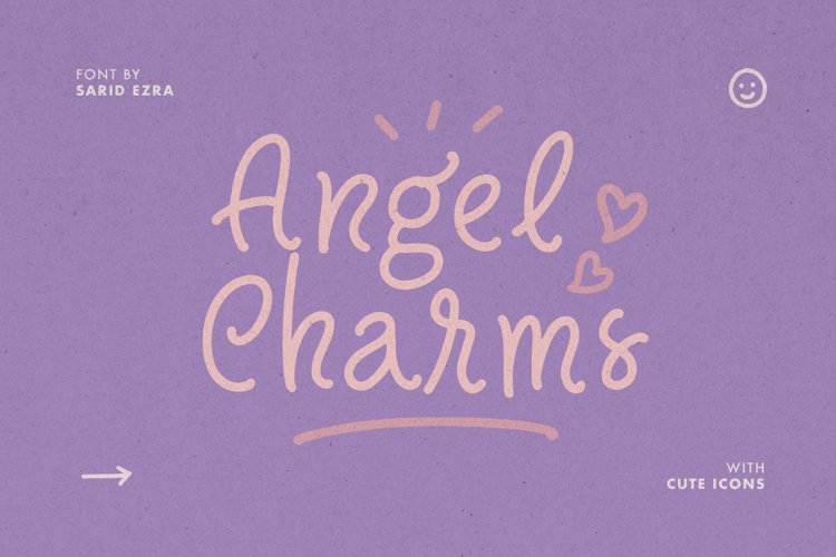 Angel Charms - Cute Font example image 1