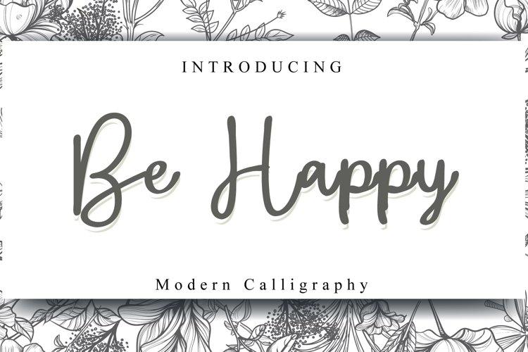 Be Happy example image 1
