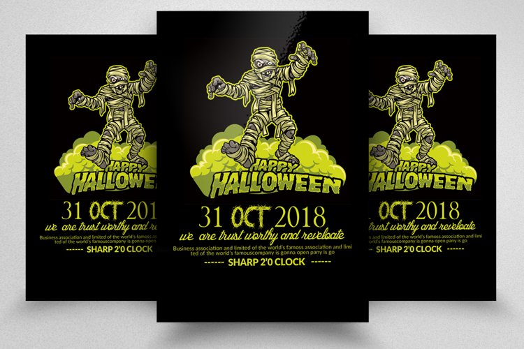Halloween Flyer Template example image 1