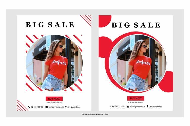 big sale color red example image 1