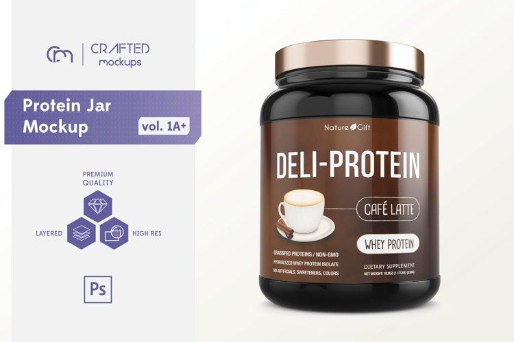 Protein Jar Mockup vol. 1A Plus