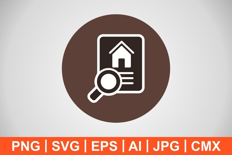 Vector Property Search Icon example image 1