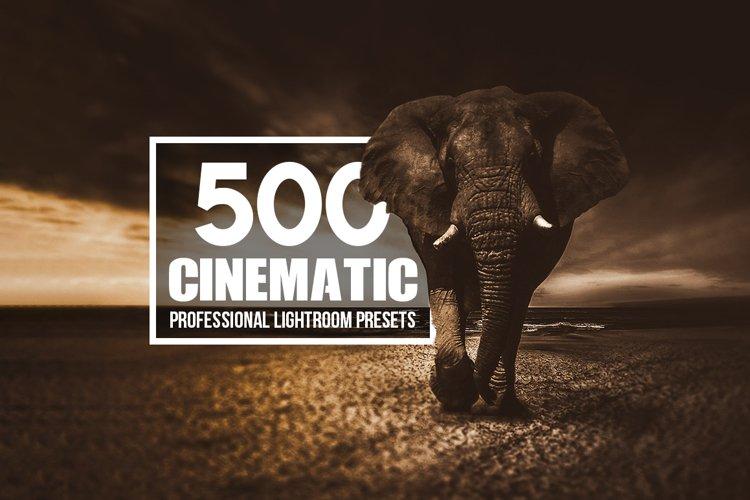 Cinematic - 500 Lightroom Presets