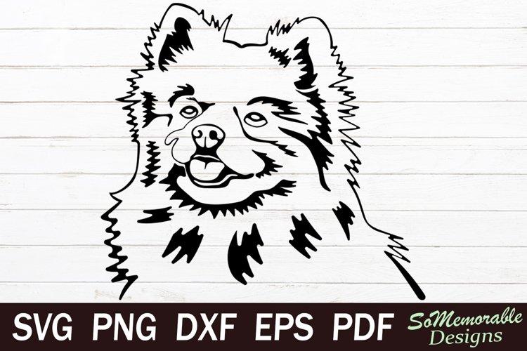 Pomeranian SVG cut file, Pomeranian svg design
