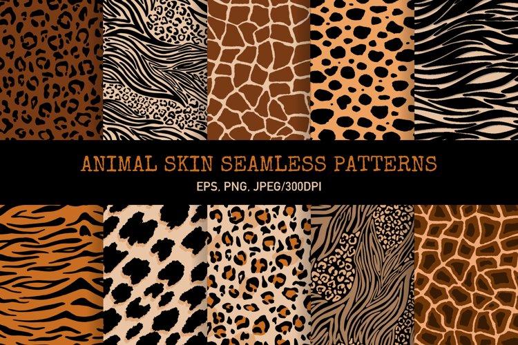 Animal Skin Seamless patterns