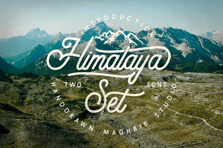 Himalaya Set Type example image 1