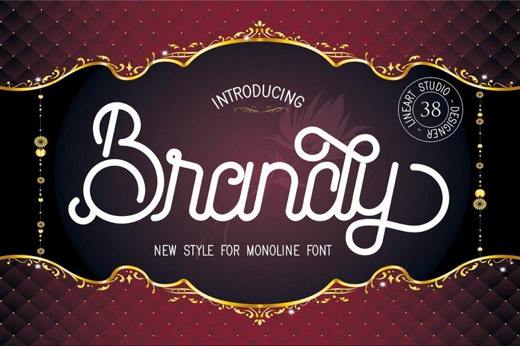 Brandy Monoline Duo example image 1
