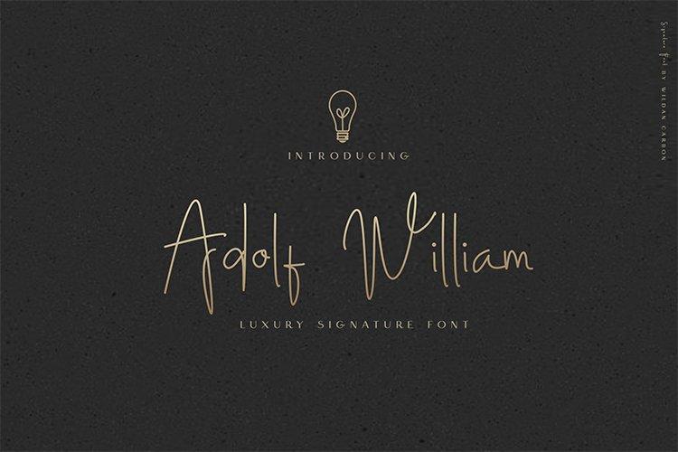 Adolf William Font example image 1